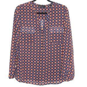 INC long sleeve thin blouse